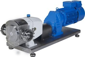 Jabsco lobe-rotor pumper