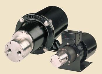 Salg & service af Tuthill miniature magnetdrevet tandhjulspumpe